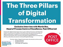 The Three Pillars of Digital Transformation