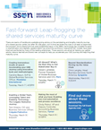 Leap-frog the Shared Services Maturity Curve