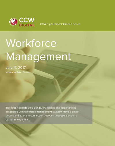 CCW Digital Special Report - Workforce Management