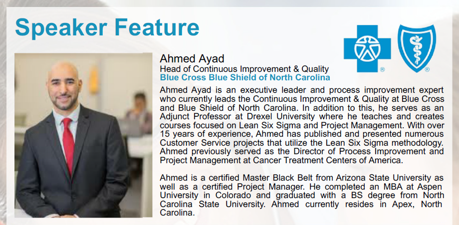 Speaker Feature with Ahmed Ayad