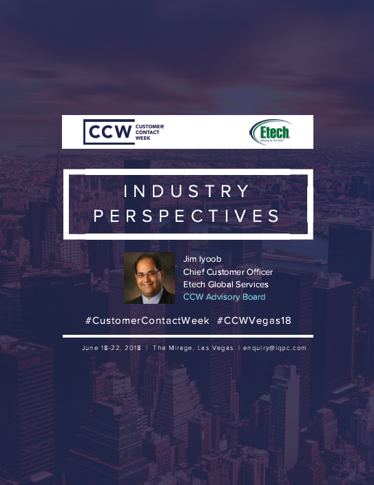 Industry Perspectives: Etech Global Services