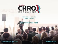 New! November 2016 CHRO Exchange Post Event Report