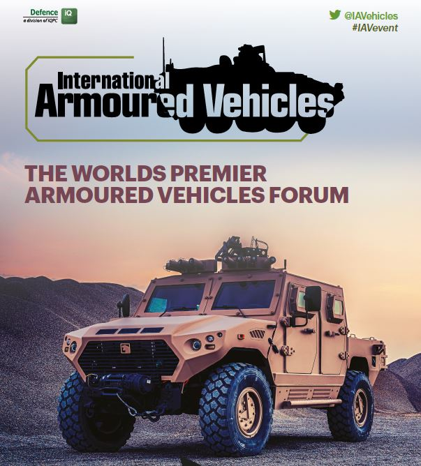 International Armoured Vehicles 2017 Post Show Report - Sponsorship