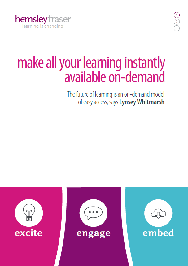 Make All Your Learning Instantly Available On-Demand