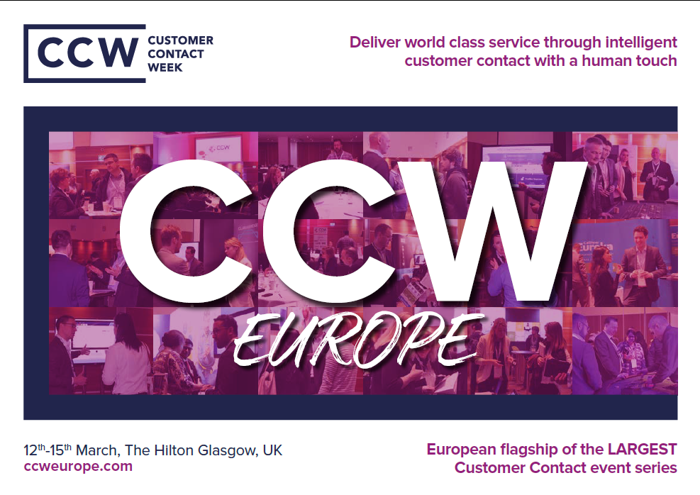 Contact Centre Week Europe 2018 Event Guide [Sponsorship]