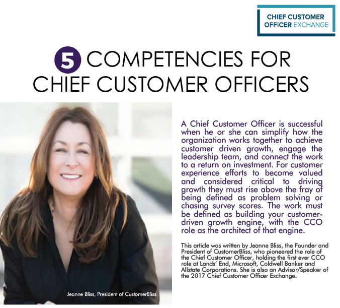 5 Competencies - Jeanne Bliss