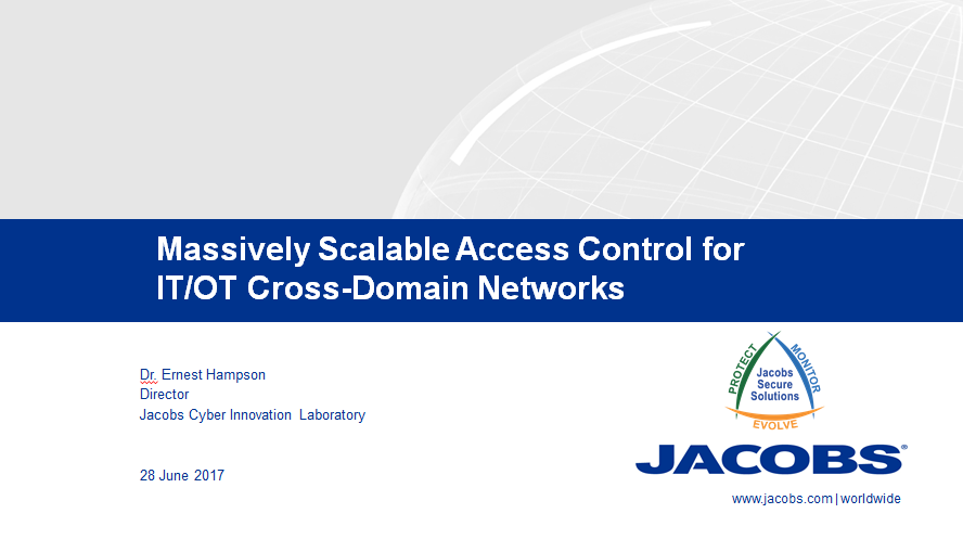 Massively Scalable Access Control for IT/OT Cross-Domain Networks
