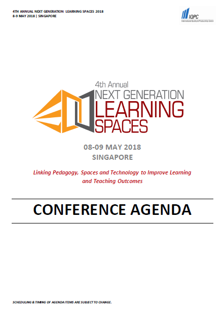 All You Need To Know About 4th Annual Next Generation Learning Spaces