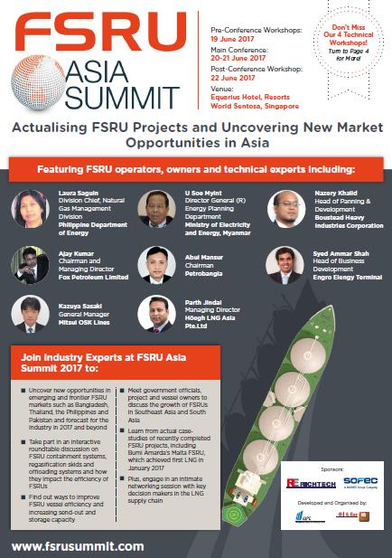 FSRU Asia Summit 2017 Brochure