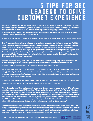5 Tips for SSO Leaders to Drive Customer Experience
