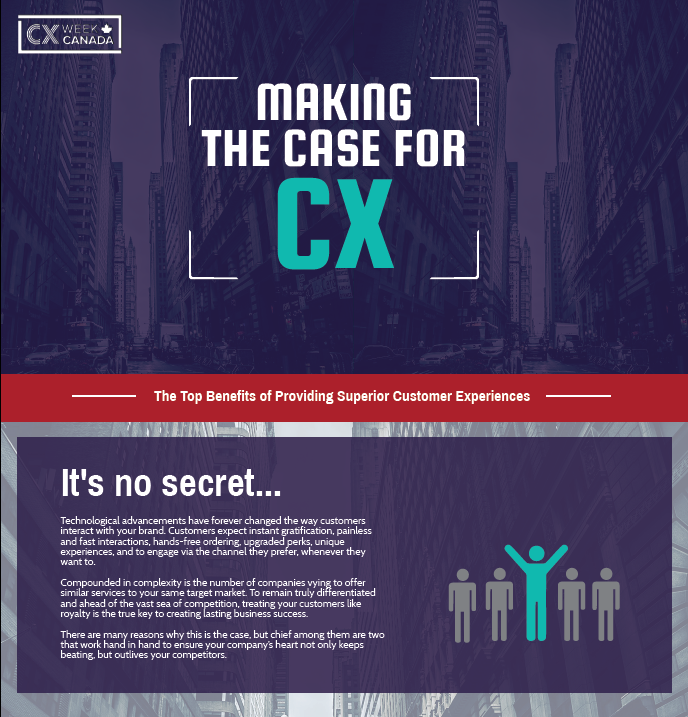 Making the Case for CX