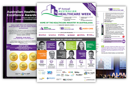 Australian Healthcare Week Agenda 2018