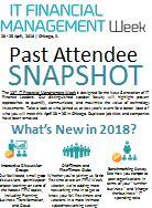 Past Attendee Snapshot: ITFM Week 2018