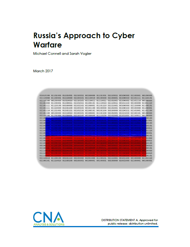 Russia's Approach to Cyber Warfare