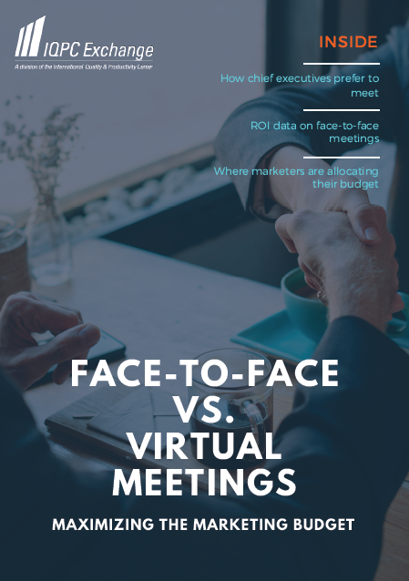 Face-to-Face Vs. Virtual Meetings Case Study
