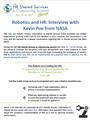 Robotics and HR: Interview with Kevin Poe from NASA