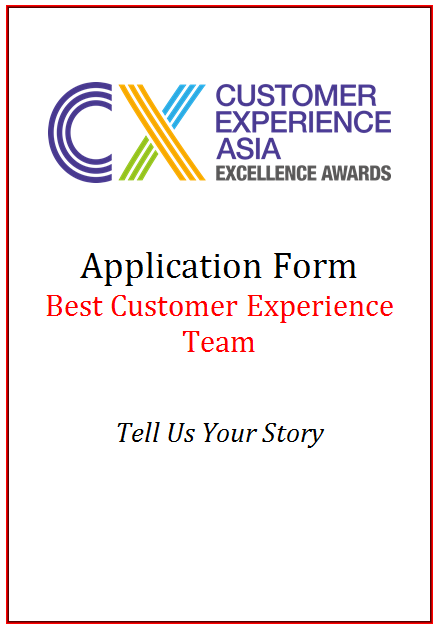 CEM Award Application Form - Best Customer Experience Team