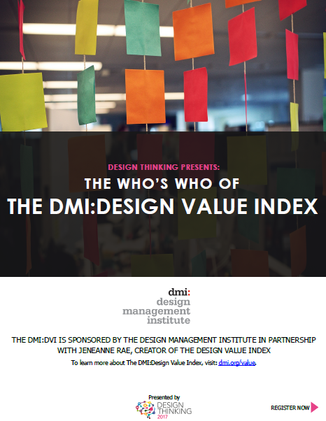 The Who's Who: Design Value Index Featured Speakers