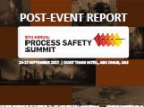 Post-event report: 9th Annual Process Safety Summit 2017