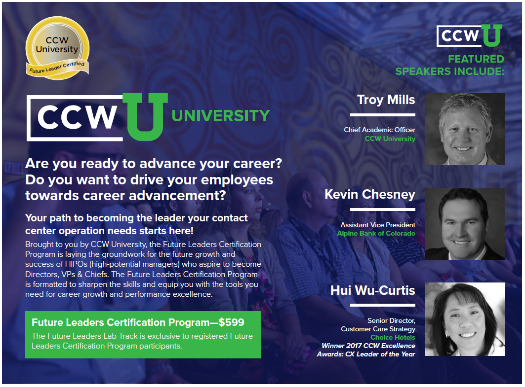 CCW University: Future Leaders Certification Program