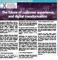 The future of customer experience and digital transformation