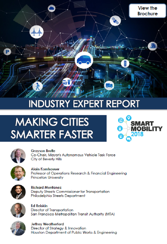 Industry Expert Report: Making Cities Smarter Faster