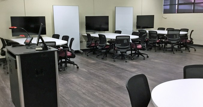 New UH Hilo Classrooms Spark Active Learning