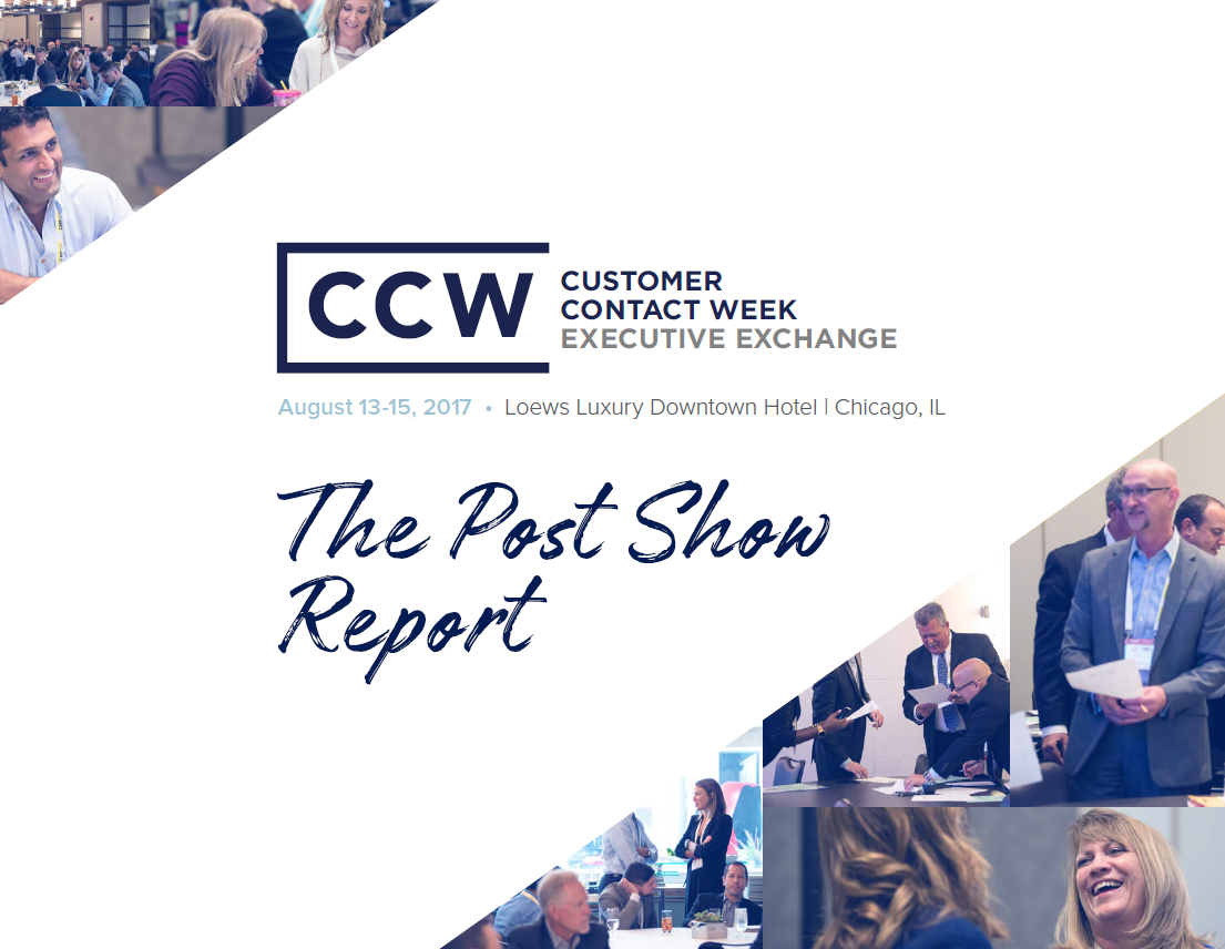 CCW Executive Exchange August 2017 Post Show Report