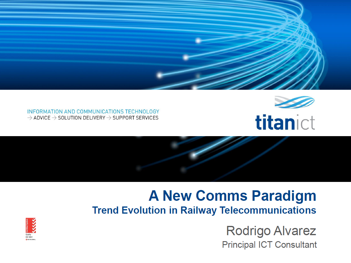 General Trend Analysis of Telecoms for Train Control and its Potential to be an Integrated System