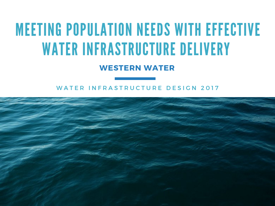 Western Water: Meeting Population Needs with Effective Water Infrastructure Delivery