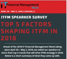 The Top 5 Trends that Shaped IT Financial Management in 2018