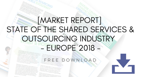 [SSON's Annual Report] State of The Shared Services and Outsourcing Industry - Europe 2018