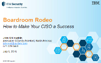 Boardroom Rodeo: How to Make Your CISO a Success