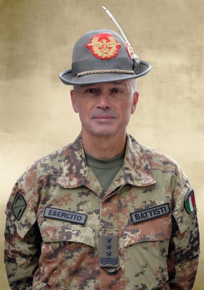 Lt. Gen (R)  Giorgio  Battisti