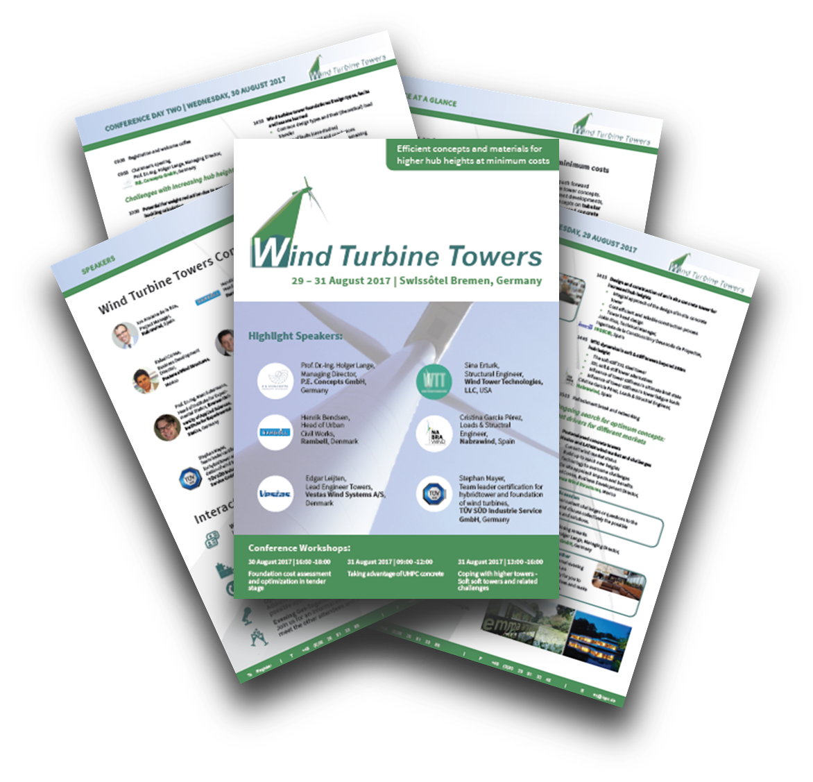 Towers for Wind Turbines Agenda