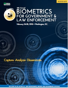2018 Biometrics for Government & Law Enforcement Agenda