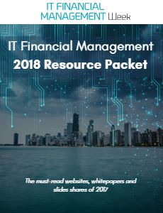 IT Financial Management Resource Packet: 2018 Edition