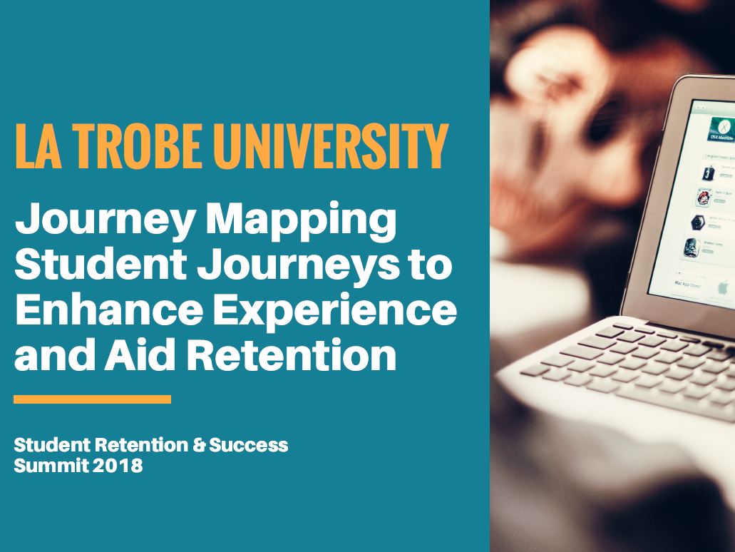 Journey Mapping Student Journeys to Enhance Experience and Aid Retention