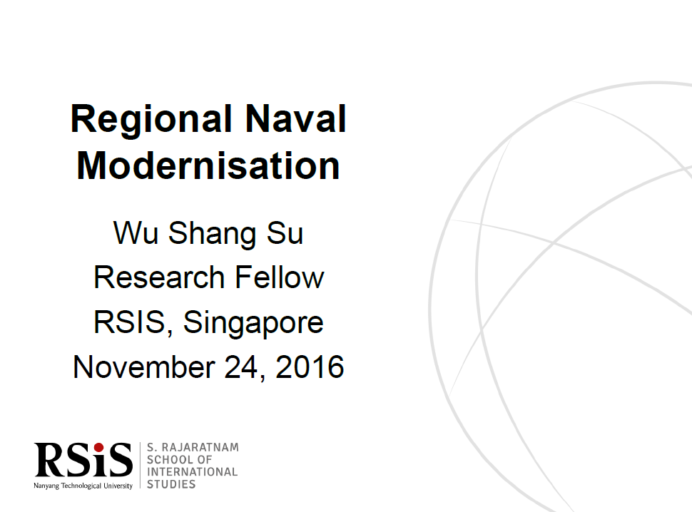 Regional Naval Modernisation