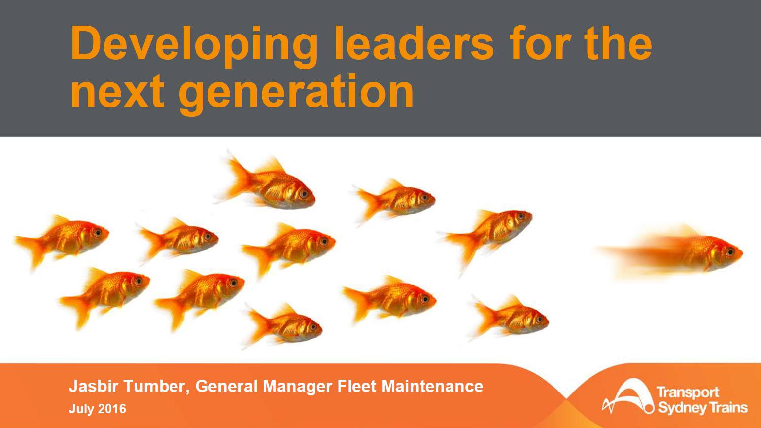 Developing Leaders for Next Generation
