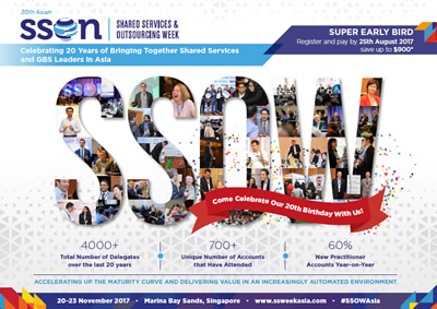 Agenda: 20th Annual Shared Services & Outsourcing Week Asia Summit