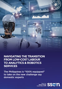 "Navigating The Transition From Low-Cost Labour To Analytics & Robotics Services: The Philippines is ""100% equipped"" to take on the new challenge say domestic experts"