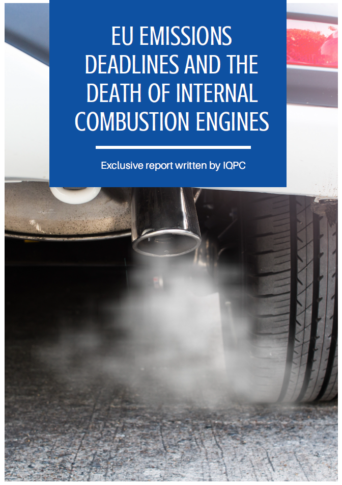 Report on the EU Emissions Deadlines and the Death of Internal Combustion Engines