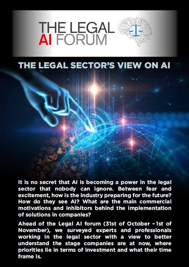 The legal sector's view on AI