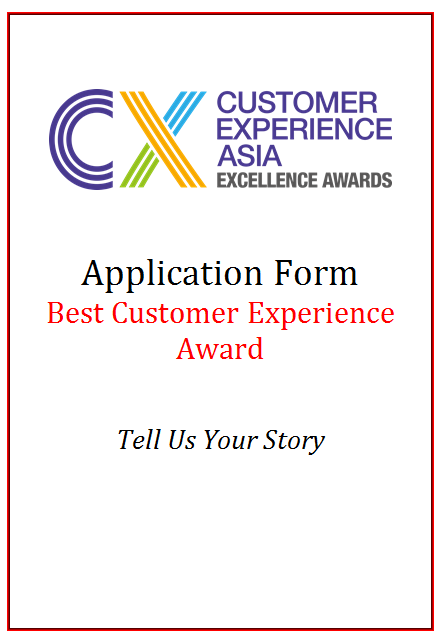 CEM Award Application Form - Best Customer Experience Award