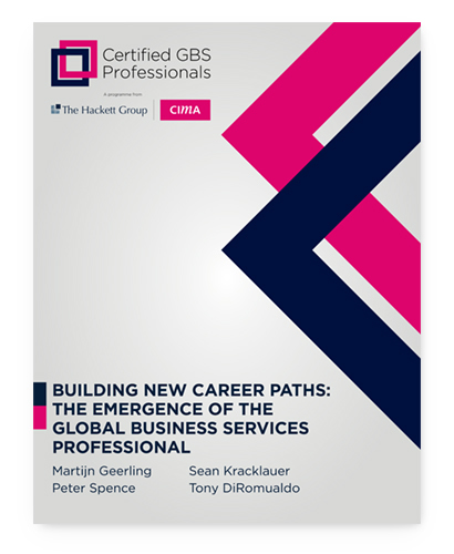 Building New Career Paths: The Emergence of the Global Business Services Professional
