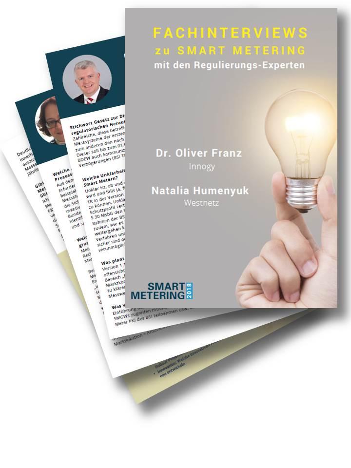 Q&As zum Smart Meter Rollout mit Dr. Franz von innogy Metering und Frau Humenyuk von Westnetz