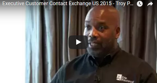 Interview with Troy Peterson, VP Customer Care, Erie Insurance