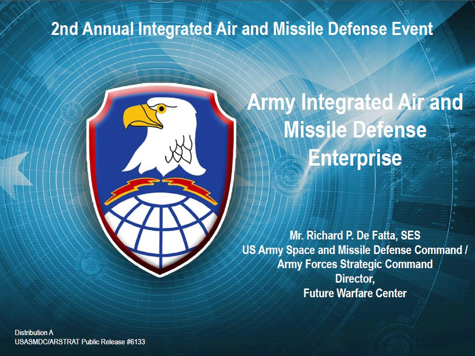 Army Integrated Air and Missile Defense Enterprise