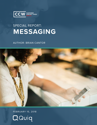 CCW Digital Special Report - Messaging